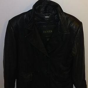 Genuine Canadian leather jacket
